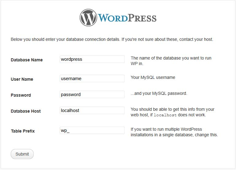 Configuring Your Wordpress Site Part 1