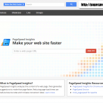 Google Speed Page